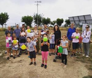 Una quarantena de persones participen a les visites meteorològiques de l'Observatori de Pujalt durant el mes d'agost