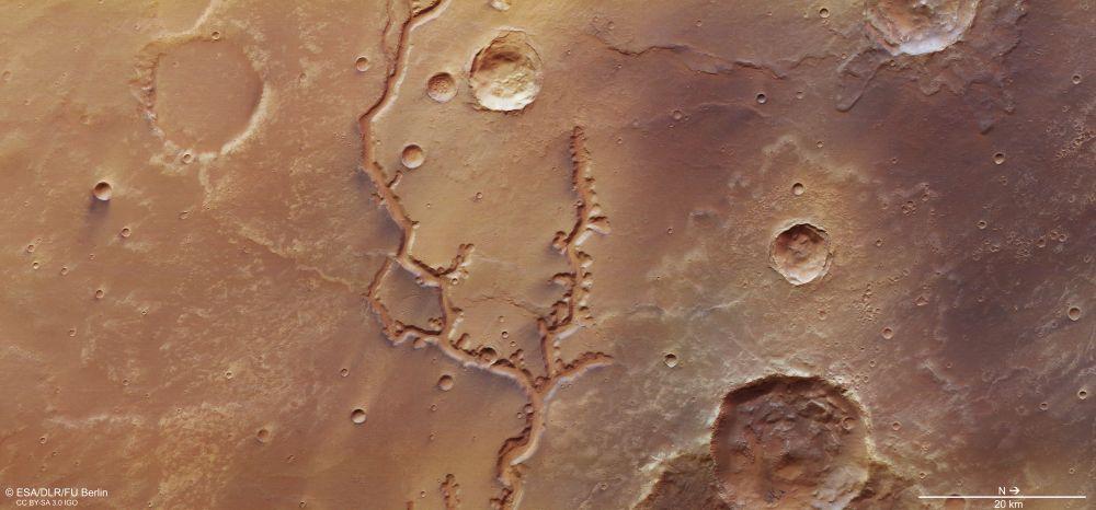Es descobreix un antic riu de Mart que podria haver tingut força aigua en el passat
