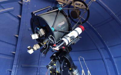 Es completa el parc astronòmic de l'Observatori de Pujalt