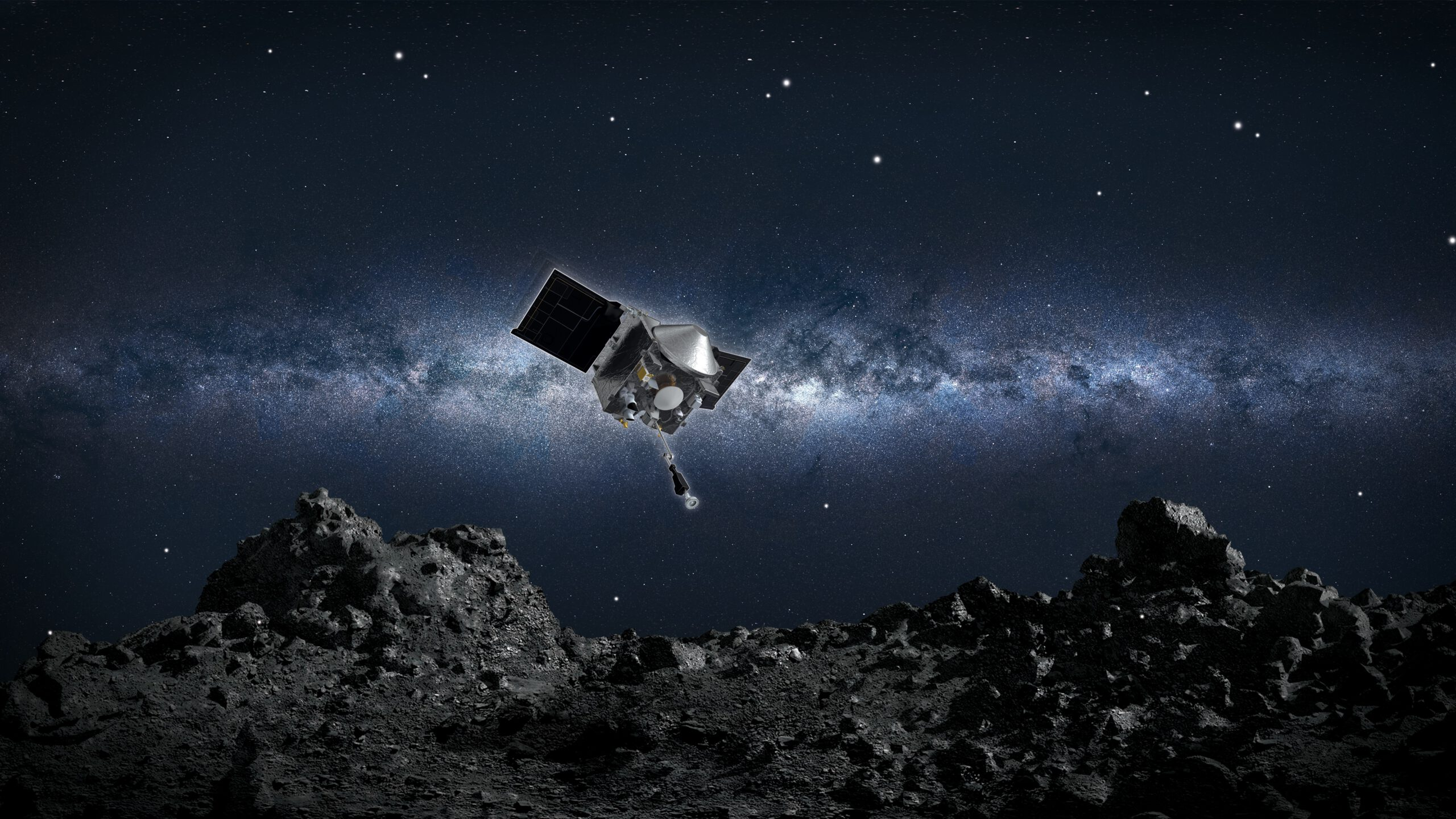 La sonda Osiris Rex tocarà un asteroide aquesta mateixa nit, recollirà mostres i les tornarà a la Terra