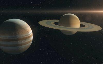 L'últim esdeveniment astronòmic de l'any 2020, la impressionant conjunció entre Júpiter i Saturn