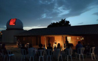 Més de 200 persones visiten el Parc Astronòmic de Pujalt per observar el fenomen dels Perseids.