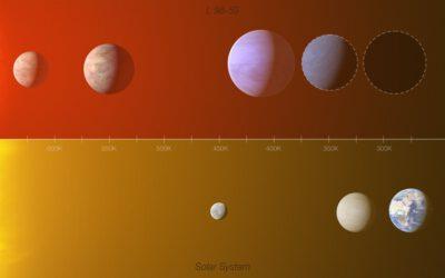 Descobert un planeta rocós amb la meitat de massa que Venus