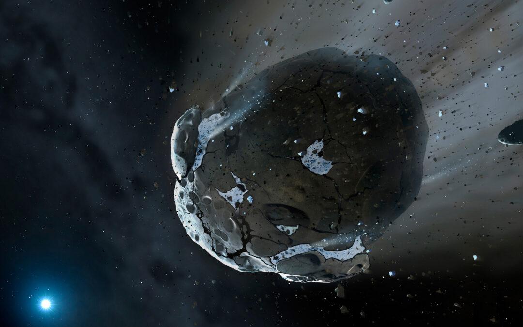 L'estranya cua de l'asteroide Phaeton