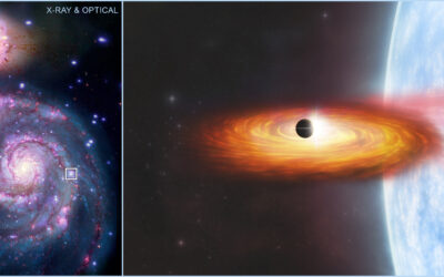 Chandra veu evidència d'un possible planeta en una altra galàxia