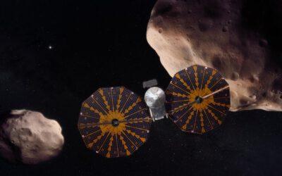 La sonda Lucy se'n va a visitar els asteroides troians de Júpiter